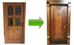 تعویض درب قدیمی با درب ضد سرقت