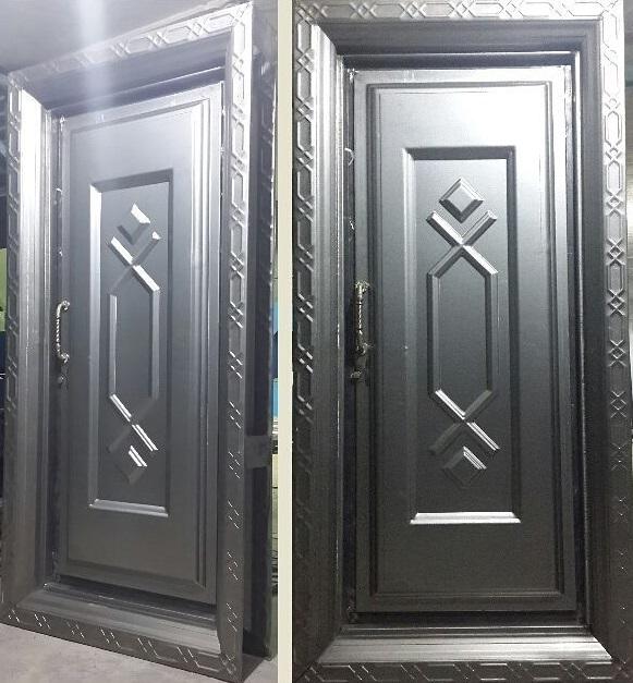 انتخاب درب ضد سرقت فلزی مناسب