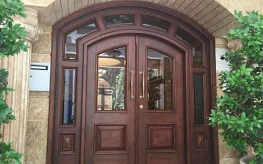 مشخصات انواع درب ورودی ساختمان